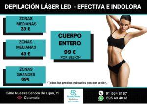 depilacion laser, depilación láser madrid, depilación láser led, depilación definitiva madrid